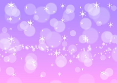 散景閃光背景星星紫色可愛