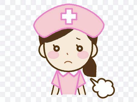 害羞的護士A-28