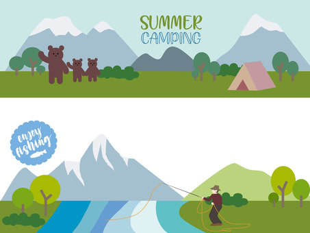 Campsite bears and fly fishing