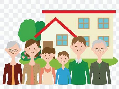 2 household family