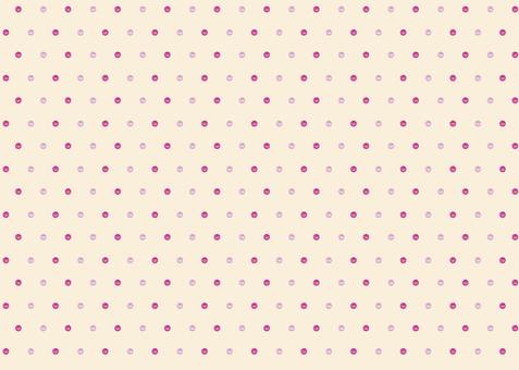 水彩柔和可愛的波爾卡圓點