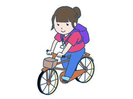 Bicycle visit