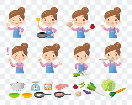 烹飪媽媽的變化
