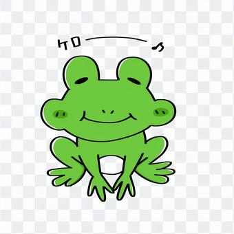 鬆散的青蛙圖