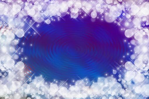波光粼粼的波浪/藍色