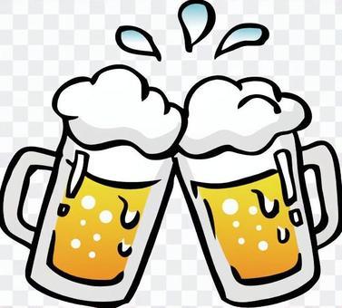 泡沫冷啤酒插圖04
