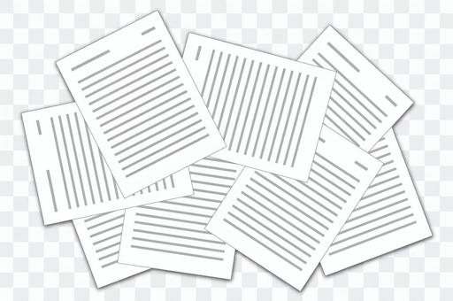 Cluttered documents