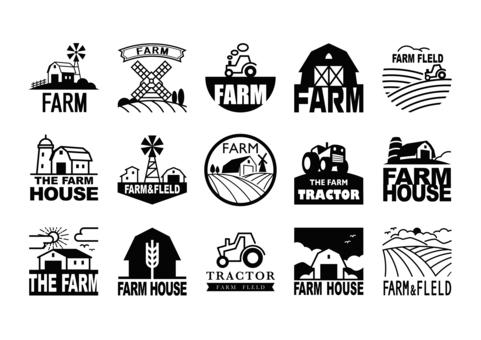 Farm mark (black)