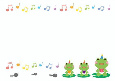 青蛙通知框架