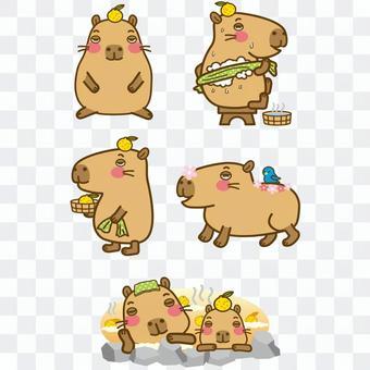 Capybara character