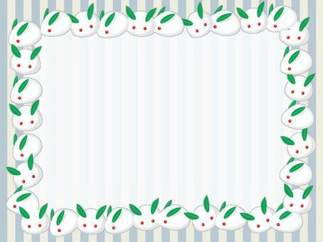 Snow Rabbit Card