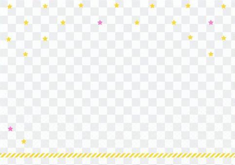 背景_黄色スター