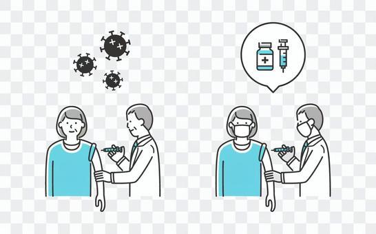 待接種疫苗的婦女/已接種疫苗的婦女03