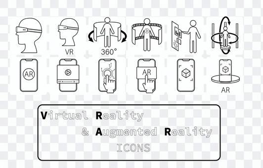 Icon [VR & AR_mono_frame]