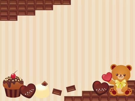 Sweets and bear-chan