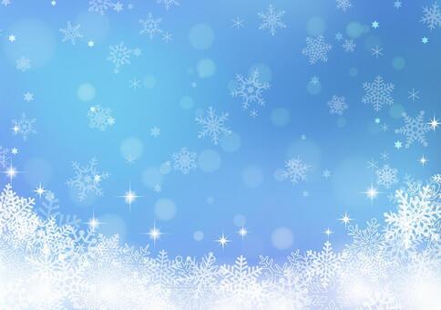 冬天背景材料06