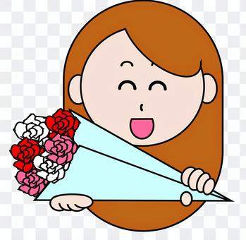 一個女人的花束