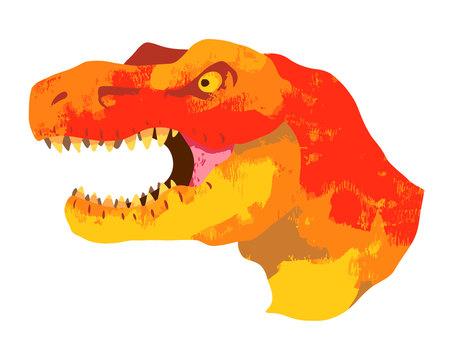 Tyrannosaurus face