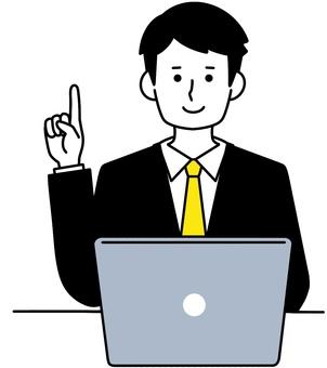 個人電腦解釋人簡單的設計