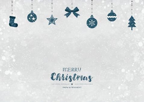 冬天背景框架027聖誕節黑暗白