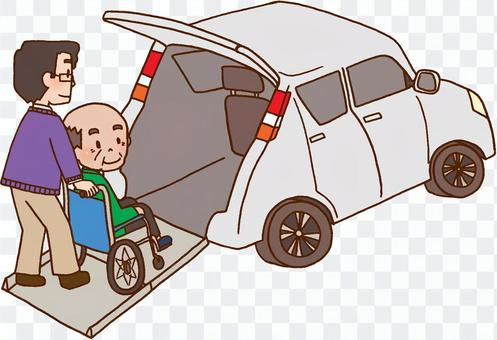 [福利设备]福利车辆,汽车,残疾人士