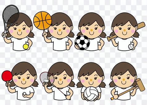 女性36_11(スポーツ・セット)