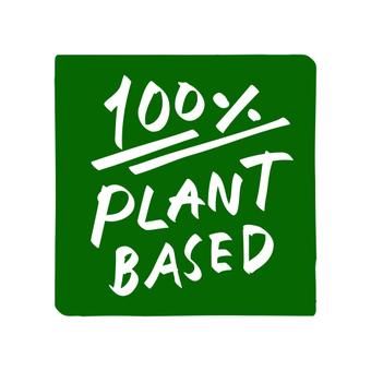 Plant-based vegan icon