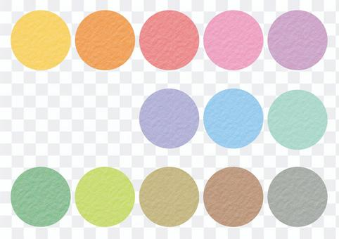 Watercolor paper pattern swatch