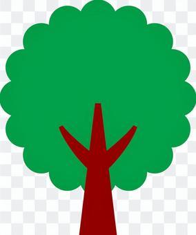 樹_deformume _ 02 _綠色