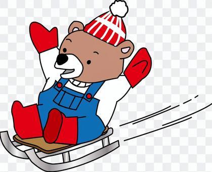 太郎的雪橇戲