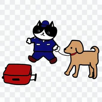 毒品檢測犬
