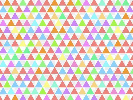 柔和的虹彩鱗片圖案