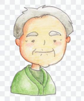 Grandfather (upper body) 03