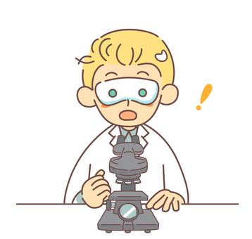 顯微鏡和驚人的外國研究人員
