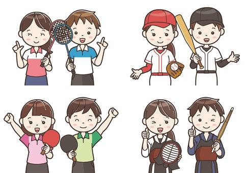 Club activity illustration 15