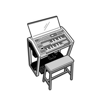 樂器電子琴