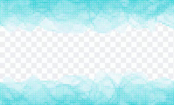 點紋理 - 淡藍色