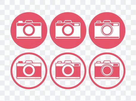 圓形圖標的相機