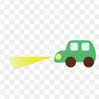 近光灯汽车