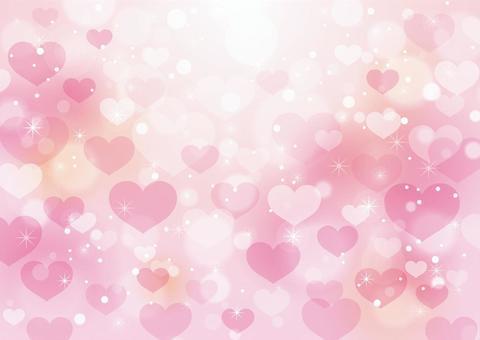 心和閃光背景 10