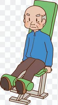 介護予防,運動,老人,ジム