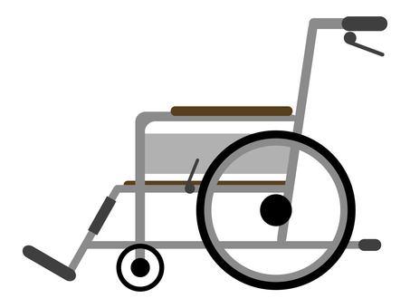 輪椅傷害疾病疾病殘疾事故腳
