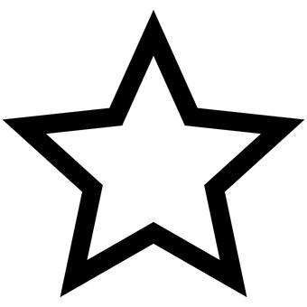 Picto star favorite mark