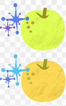 閃閃發光的梨
