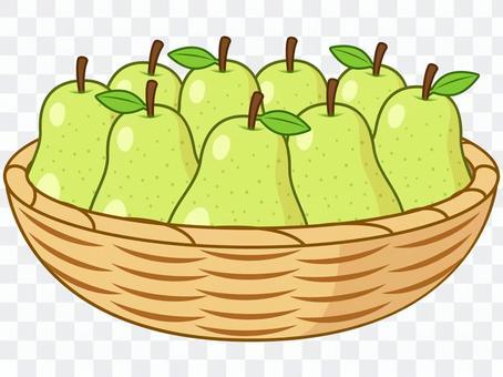 No basket pear
