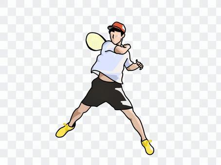 正手(軟網球)