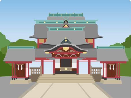 霧島神社與背景