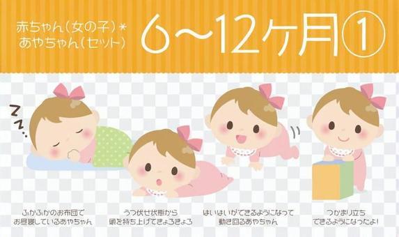 寶貝(女)* 6至12個月①【設置】