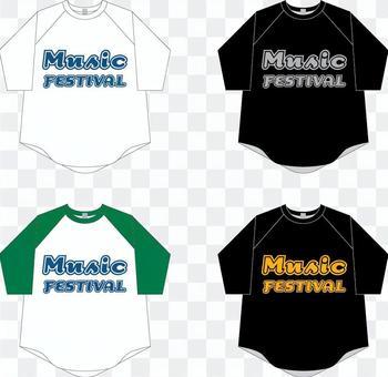 Tシャツ Music Festival