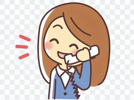 一個女人打電話(025)